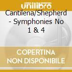 T.arne symphonies 1-4 cd musicale di Artisti Vari