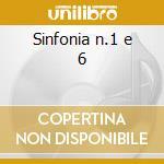 Sinfonia n.1 e 6 cd musicale di Shostakovich