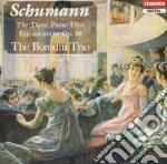 Three piano trios, the cd musicale di Robert Schumann