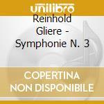 Sinfonia n.3 op. 42 cd musicale di Gliere