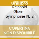 Sinfonia n.2 in c minor op.25 cd musicale di Gliere