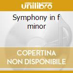 Symphony in f minor cd musicale di Richard Strauss