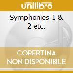 Symphonies 1 & 2 etc. cd musicale di Nicol Rimsky-korsakov