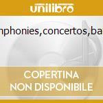 Symphonies,concertos,ballets cd musicale di Stravinsky igor fedo