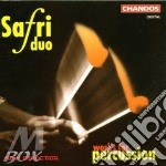 WORKS FOR PERCUSSIONS cd musicale di SAFRI DUO