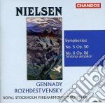 Symphonies 5 e 6 cd musicale di R. Nielsen
