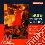 Orchestral works cd musicale di Faure