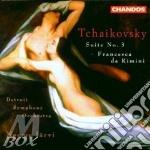 Suite n.3/francesca da rimini cd musicale di Tchaikovsky