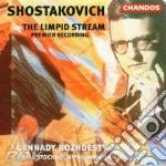 Limpid stream, the cd musicale di Shostakovich