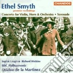Concerto x violin,horn, orche. cd musicale di Ethel Smyth