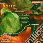 Sinfonia n.1 n.7 cd musicale di Bortz