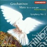 Symphony n.2/ mass et in terra cd musicale di Alexan Gretchaninoff