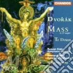 Mass in d op.86/te deum op.103 cd musicale di Antonin Dvorak