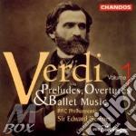 Preludes overtures and ballet cd musicale di Giuseppe Verdi