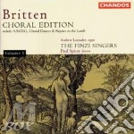 Choral edition vol. 1 cd musicale di Britten