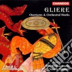 Overtures & orchestral works cd musicale di Gliere