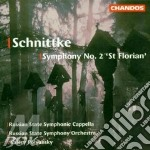 Symphony n.2 st florian cd musicale di Alfred Schnittke