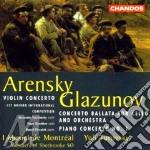 Violin concerto/concerto balla cd musicale di Anton Arensky
