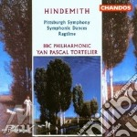 Pittsburg symphony etc. cd musicale di Paul Hindemith