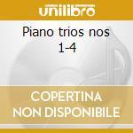 Piano trios nos 1-4 cd musicale di Antonin Dvorak