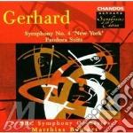 Symphony n.4 / pandora suite cd musicale di Gerhard