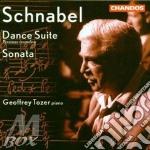 Dance suite 1921/sonata 1923 cd musicale di Artur Schnabel