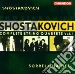 Complete string quartet v.1 cd musicale di Schostakowitsch