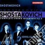 Complete string quartets, v.2 cd musicale di Shostakovich