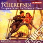 Music for cello and piano cd musicale di Alexander Tcherepnin