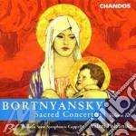 Sacred concertos v.2 cd musicale di Bortnyansky dmitri st