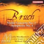 Violin conc.n.3 / symphony n.1 cd musicale di Max Bruch
