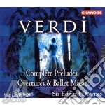 Complete prelude,overtures ecc. cd musicale di Giuseppe Verdi