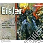Die mutter, foyur pieces,op.13 cd musicale di Hanns Eisler
