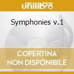Symphonies v.1 cd musicale di Gade niels w.