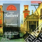 Salieri, Antonio - Symphonies, Ouvertures And Variations cd musicale di Antonio Salieri