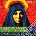 Sacred concertos cd musicale di Bortnyansky dmitri st