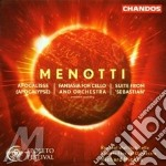 Fantasia for cello and orchest cd musicale di Giancarlo Menotti