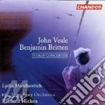 Concerto violin and orchestra cd musicale di Benjamin Britten