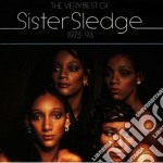 THE BEST OF SISTER SLEDGE cd musicale di Sledge Sister