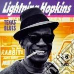 The texas blues man cd musicale di Lightnin' Hopkins