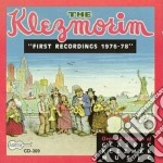 Earliest recordings cd musicale di Klezmorim The