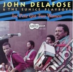 The zydeco man cd musicale di Delafose John