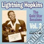 The gold star session 2 cd musicale di Lightnin' Hopkins
