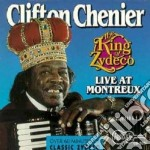 The king of zydeco cd musicale di Clifton Chenier
