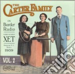On border radio vol.2 '39 - carter family cd musicale di The Carter family