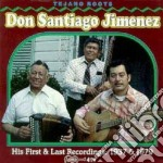 His first/last rec.'28/33 cd musicale di Don santiago jimenez