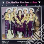 Volume 2 - maddox rose cd musicale di The maddox brothers & rose