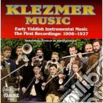 Early yiddish 1908-1927 - klezmer cd musicale di Klezmer music 1908