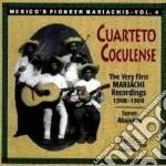 Mexico's pioneer mariachi - cd musicale di Coculense Cuarteto