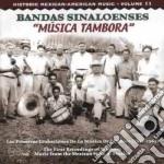 Musica tambora 1952-1965 - cd musicale di Sinaloenses Bandas